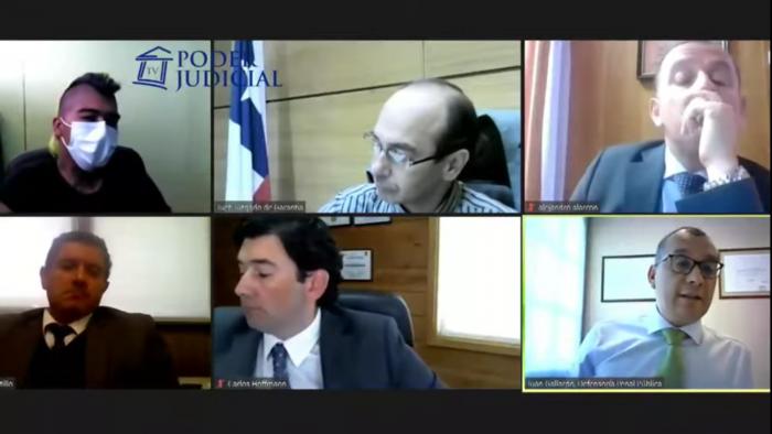 Juzgado establece prisión preventiva para imputado por incendio de Municipalidad de Villarrica