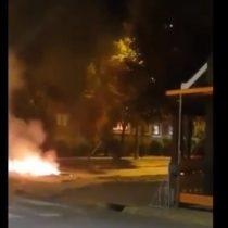 Incendio y destrozos en el Municipio de Villarrica terminó con 12 detenidos