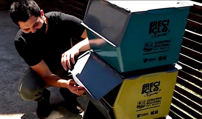 Entregan 40 mil kits de reciclaje domiciliario en pionera iniciativa de gestión comunal de residuos