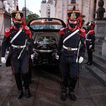 Inhuman los restos del expresidente argentino Carlos Menem tras un velatorio en el Congreso