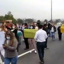 Exigen apertura en fase 2: alta congestión en la Ruta 5 Sur por manifestación de trabajadores del Casino Monticello