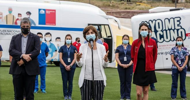 Subsecretaria Daza inaugura Centro Logístico de Vacunación en el Estadio Nacional