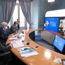 Piñera propone coordinación entre países Prosur para uso eficiente de vacunas