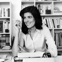 """""""Susan Sontag creció en un completo desierto cultural, tuvo que crearse a sí misma"""""""