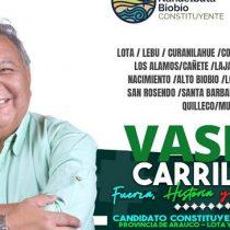 UDI solicita nulidad de candidatura a constituyente de exfrentista Vasili Carrillo