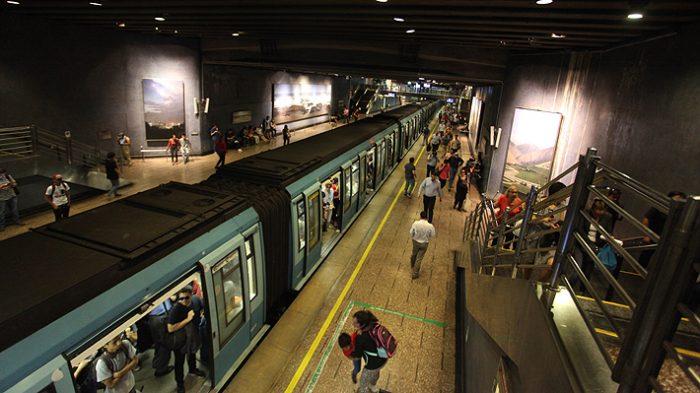 Metro suspende tramo de Línea 5: neumático de tren se dañó y generó humo