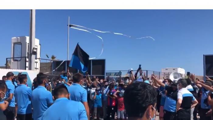 Deportes Iquique: se fueron a Primera B pero sus hinchas le dieron recibimiento de campeones