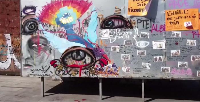 Colectivo realiza campaña de recolección de fondos para publicar libro con fotografías de grafitis del estallido