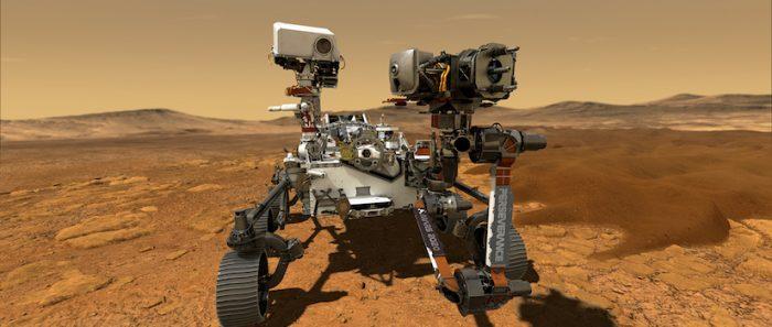 """Los """"7 minutos de terror"""" que debió superar el robot Perseverance antes de posarse en la superficie de Marte"""