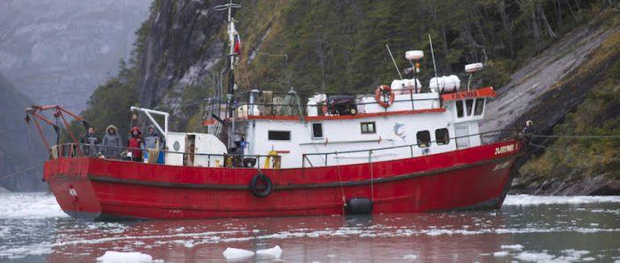 Arte contemporáneo y ciencias: proyecto Liquenlab inicia una nueva travesía navegable por el Estrecho de Magallanes