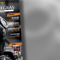 Revista Trazas Negras: seis números retratando el género policial y negro en Chile