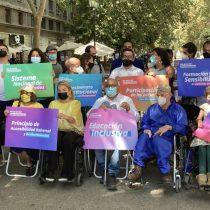 Candidatos con discapacidad de la zona central firman decálogo de derechos a defender en la Nueva Constitución