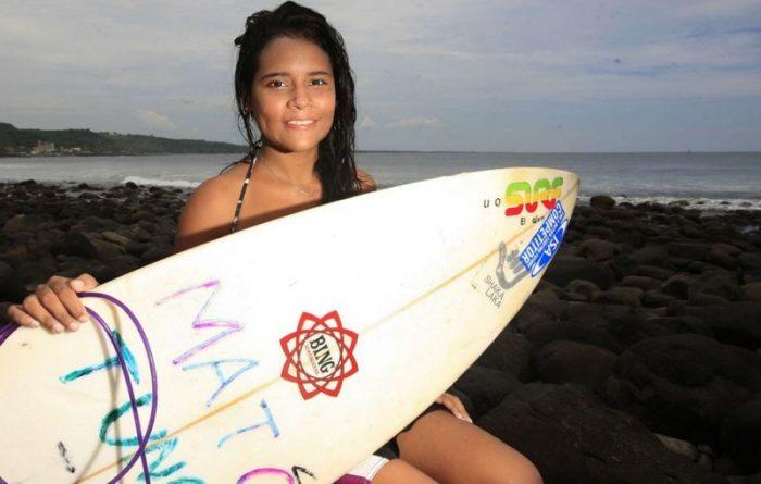 Katy Díaz, la surfista de El Salvador aspirante a los Olímpicos a la que un rayo mató mientras entrenaba