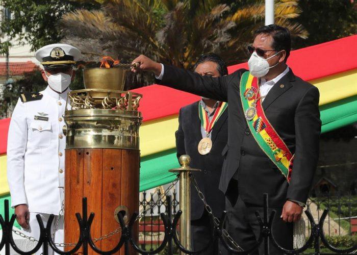 Presidente de Bolivia no olvida a Chile: dice que la demanda marítima es una cuestión