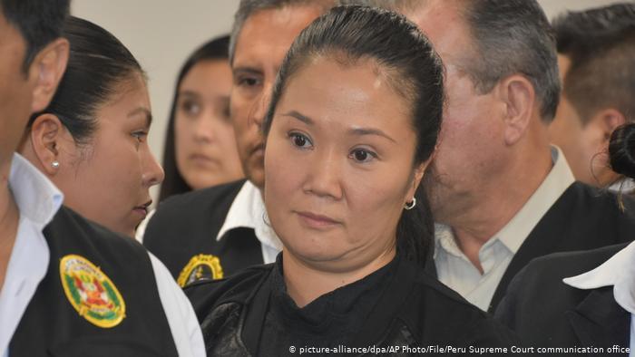 Fiscalía de Perú pide más de 30 años de prisión para Keiko Fujimori