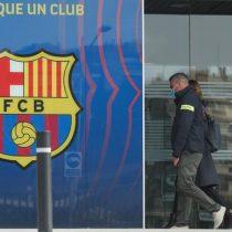 Policía detiene al director del FC Barcelona Josep Maria Bartomeu por el