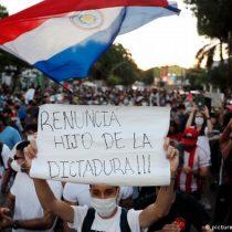 Paraguay: tercer día consecutivo de protestas contra Mario Abdo Benítez