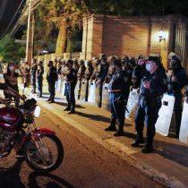 Protesta en Asunción termina en conflicto frente al Partido Colorado