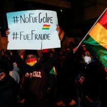 Bolivianos protestan en las calles por encarcelamiento de  Jeanine Áñez