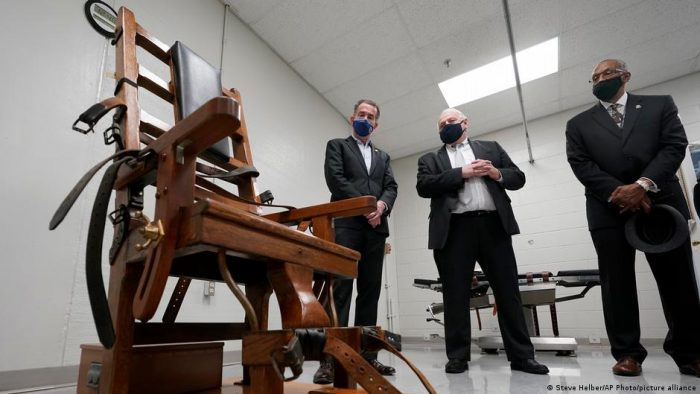 Virginia, primer estado del sur de EE.UU. en abolir la pena de muerte