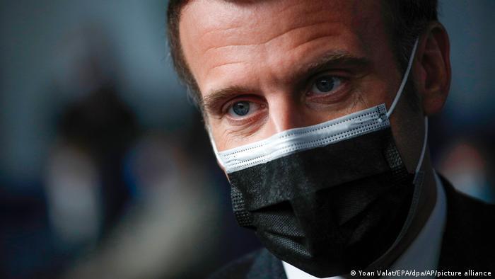 """Macron pone a toda Francia en semiconfinamiento y admitió haber """"cometido errores"""" en la gestión de la pandemia"""