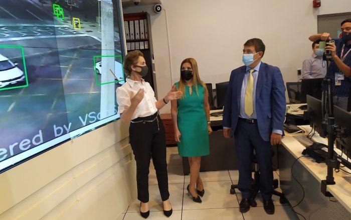 Habilitan piloto en cámaras de control de tránsito con inteligencia artificial y conectadas a 5G