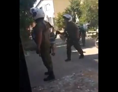 Vecinos reciben nuevo ataque con gas pimienta por parte de Carabineros en Puente Alto
