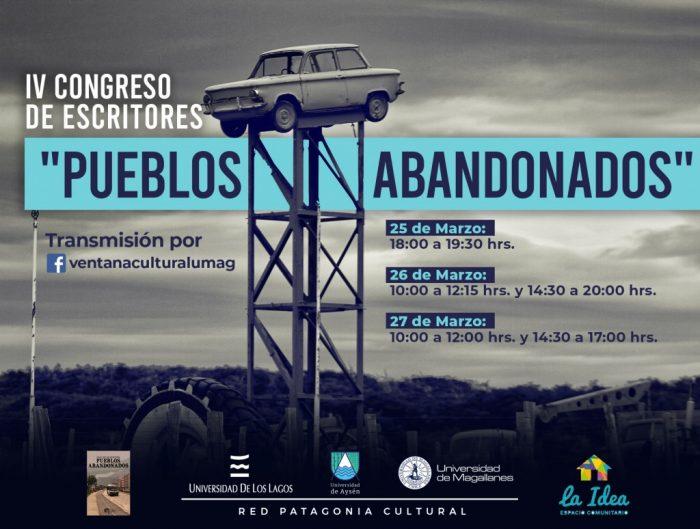 """Cuarto Congreso de Escritores """"Pueblos abandonados"""""""