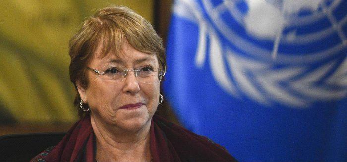 """Michelle Bachelet: """"No habrá paz ni progreso ni igualdad si las mujeres no tienen los mismos derechos y plena participación"""""""