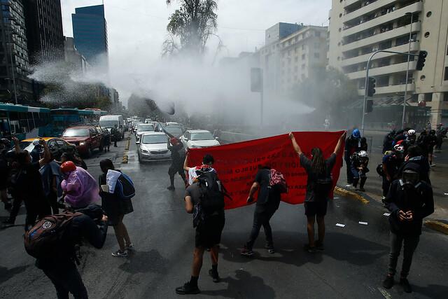 Mochilazo: vuelven las protestas de estudiantes secundarios a la Alameda