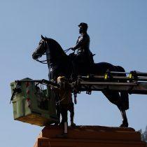 ¿Baquedano en retirada?: Consejo de Monumentos Nacionales se reúne mañana para discutir nuevamente permanencia de estatua en Plaza Italia