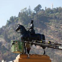 Marco Moreno y el retiro de la estatua de Baquedano: