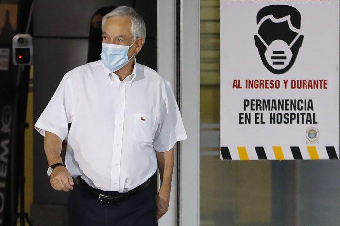 Presidente Piñera recibió la segunda dosis de la vacuna contra el covid-19