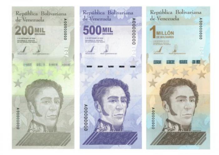 Venezuela lanza el billete de un millón de bolívares: cuánto vale y cómo se ha llegado hasta aquí