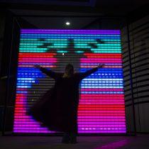 Dos chilenos presentan sus obras en el primer Festival anual de luz y arte en Riad