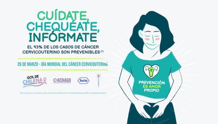 Lanzan campañade prevención de cáncer cérvico uterino