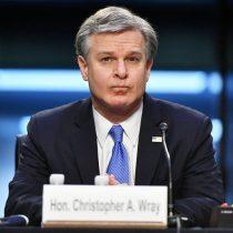 Jefe del FBI acusa a los atacantes del Capitolio de terrorismo doméstico