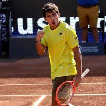 Garin logra otro triunfo en el ATP de Santiago y concreta su entrada a semifinales