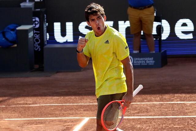 Christian Garin clasifica a la final del ATP 250 de Santiago