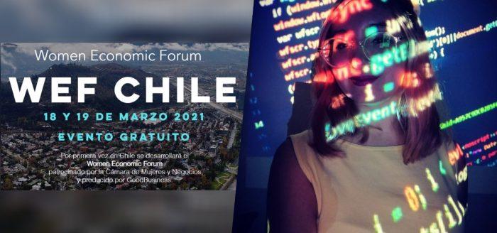 Women Economic Forum: activista chilena será la conferencista más joven en el foro internacional