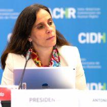 """Antonia Urrejola, presidenta de la CIDH: """"Vivimos en un mundo donde se sigue discriminando a las mujeres, pero también vivimos en un mundo que tiene en la cúspide de la agenda estos asuntos"""""""