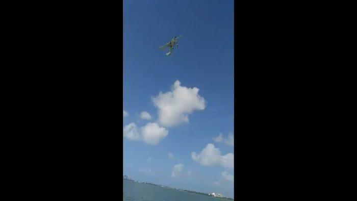 Avioneta se desploma en Cancún tras dar a conocer sexo de bebé