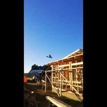 Osorno: vecinos denuncian maniobras de avioneta próximas a viviendas