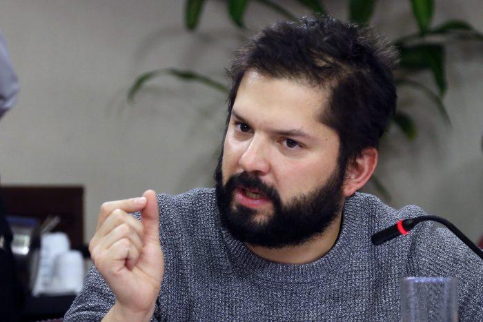 Revolución Democrática proclama a Gabriel Boric como nuevo abanderado para elecciones presidenciales