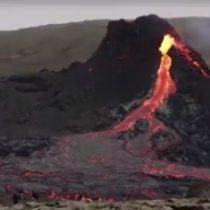 Volcán islandés podría pasar años en erupción, creando un atractivo