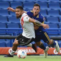 Paulo Díaz fue titular en el empate del superclásico argentino entre Boca y River