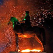 CDE presenta querella por quema de estatua de Baquedano