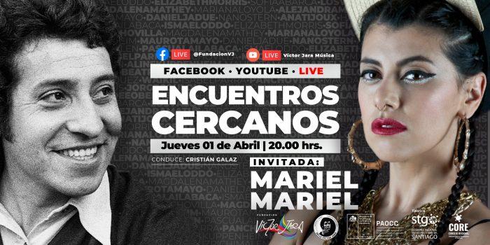 Mariel Mariel en Fundación Víctor Jara