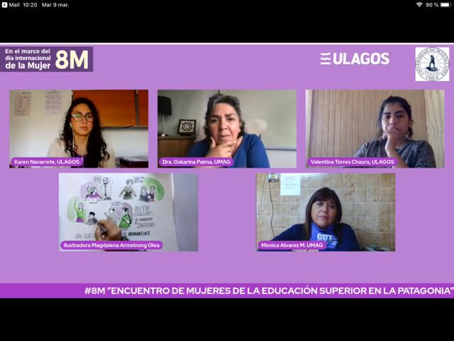8M: Mujeres universitarias reflexionaron sobre brechas de género y sexismo en la educación superior