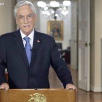 Piñera por fin muestra sus cartas en reforma previsional: anuncia expansión del Pilar Solidario pero no cede con el 3% extra a las cuentas individuales